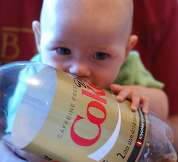 Breast-feeding-cola
