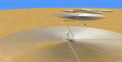 solar energy plant brightsource launches in israel