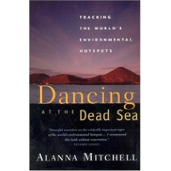 dancing dead sea book cover alanna mitchell photo