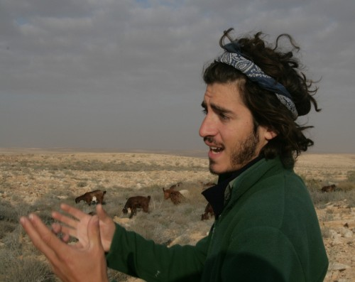 goat herder robert lavenstein israel photo